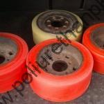 Наплавка колес для складской техники